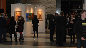 Guests at International Woman's day, Colours of a Woman show, 2013, Ottawa