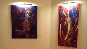 Exhibition at the Serbian Embassy - Pre opening
